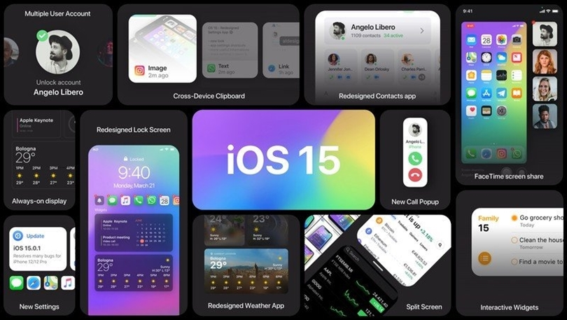 IOS 15 is here, but we're still waiting on a few new features